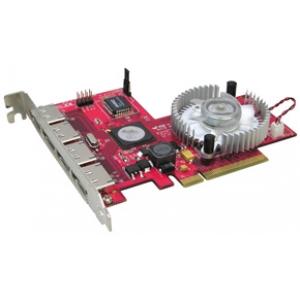 SATA II kontroller, 4 porti, RAID5, PCI-Express x8