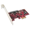 SATA II kaart, 2 x SATA II, RAID 5, PCI-Express