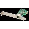 Võrgukaart: PCIe, 10/100/1000Mbps (+ Low Profile ka kaasas)