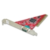 RS-232 PCI kaart, 1 port, 16C950, 128 Byte, FIFO