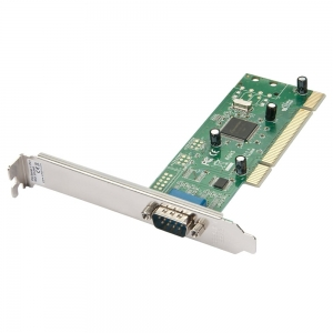 RS-232 PCI kaart 1port, 32 Bit (Win XP, Vista, 7, 8, 8.1, 10, Server 2003, 2008, Linux)