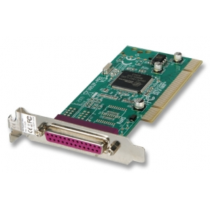 PCI Low Profile Parallel kaart, 1 port