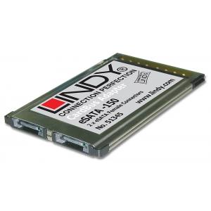 Üleminek PCMCIA - 2x eSATA