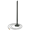 Ringantenn: 2.4GHz 7 dBi, 1m kaabel, sma pistik