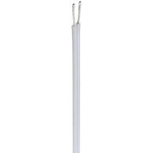 Kõlarikaabel 2x2,5mm² valge, OFC, topeltvarjega 10m/rull