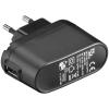 USB laadija, 100 - 240V > 5V, 1000mA, 1 USB port