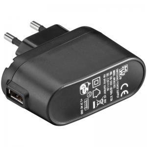 USB laadija, 100 - 240V > 5V, 1A, 1 USB port