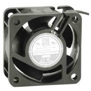 KNIGHTEL OD4020-24LB Ventilaator 24V 40x40x20mm 25dB 1.4W 60mA 6200rpm kuullaager