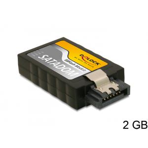 SATA moodul: mahtuvus-2GB, SLC, SATA 6Gb/S