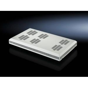 Ventilaatoripaneel rackitav/katusele 19´´ termostaadiga 2 ventilaatorit hall