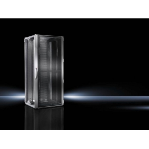 Seadmekapp TS IT 42U 2000x800x800 k,l,s, perforeeritud uksed, hall
