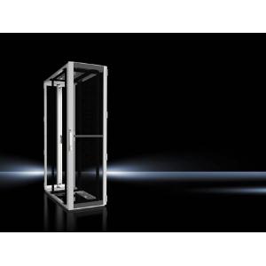 Seadmekapp TS IT 42U 2000x600x1200 k,l,s, perforeeritud uksed, hall