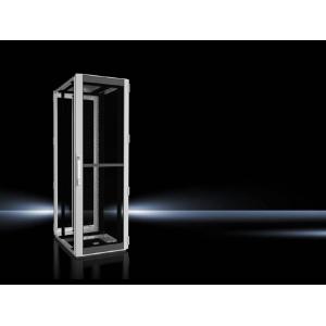Seadmekapp TS IT 38U 1800x600x800 k,l,s, perforeeritud uksed, hall