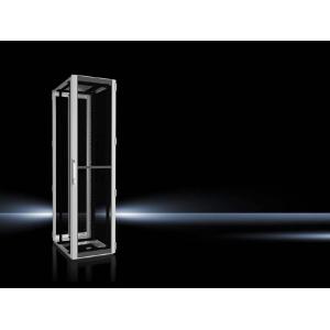 Seadmekapp TS IT 47U 2200x600x800 k,l,s, perforeeritud uksed, hall