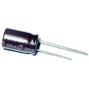 Elektrolüüt kondensaator 47uF 100V 85°C 12,5x25mm, Elna SILMIC II Audio seeria