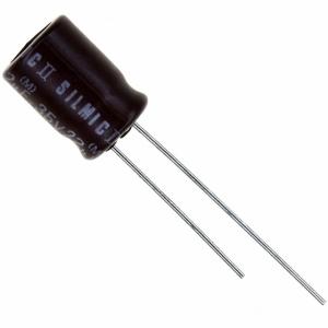 Elektrolüüt kondensaator 470uF 25V 85°C 16x25mm, Elna SILMIC II Audio seeria