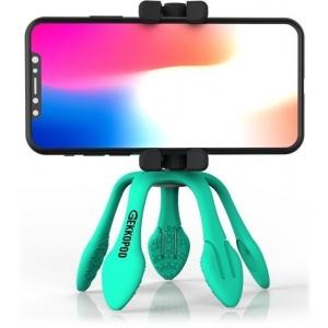 GekkoPod, paindlik statiiv Bluetooth kaugjuhitava puldiga, türkiis