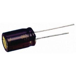 Elektrolüüt kondensaator 1800uF 6.3V 105°C 3000h 10x25mm, Panasonic FC seeria
