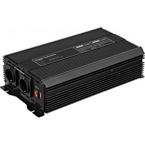 Inverter DC/AC 12V/230VAC 2000W, USB-port, sisseehitatud vent