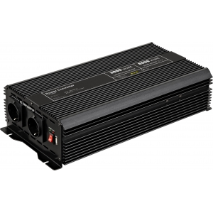 Inverter DC/AC 12V/230VAC 3000W, USB-port, sisseehitatud vent