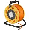 Patch kaabel CAT7A S/FTP pikenduskaabel rullis 50.0m, oranz