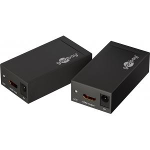 HDMI pikendaja läbi 1X CAT5 / 6 kuni 60m (HDTV kuni 1080p, HDCP 1.0/ 1.1)