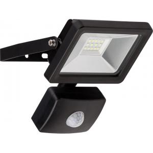 LED valgusti, liikumisandur, 60W, 830lm, IP44, must