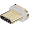Asendus USB C magnetkonnektor WEN40912 kaablile, kuld/hõbe