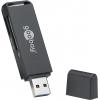 Kaardilugeja USB 3.0 A - SD, SDHC, SDXC, MicroSD; LED, 5.0 Gbps