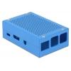 Karp Raspberry Pi B+´le, Pi 2/3 B, sinine, alumiinium/teras, 97x60x31mm