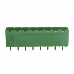 Shrouded header Male, 8-cont. straight R5mm PCB