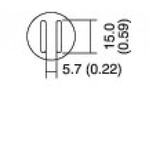 Kolviots SOP 5.6x13 8PK-979B kolvile