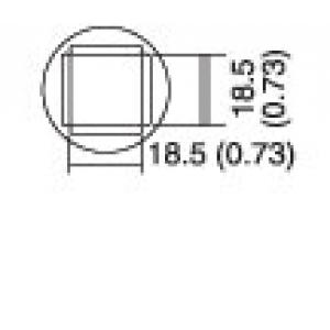 Kolviots PLCC 17.5x17.5 8PK-979B kolvile