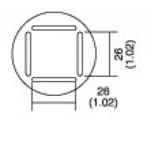 Kolviots PLCC 25x25 8PK-979B kolvile