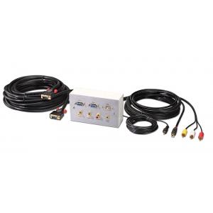 Projektori paigalduskomplekt (2xVGA, 3xRCA,USB, heli) 15.0m
