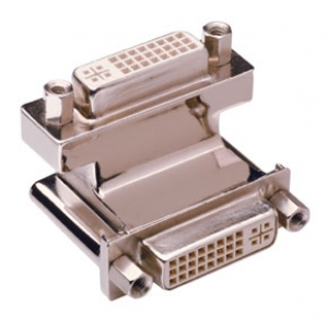 Adapter DVI-I (F) - DVI-I (F), nurgaga