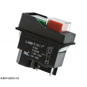 Pushbutton Switches 120V 60HZ PVC CAP