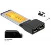 Express kaart 34mm, 2 x FireWire 1394a porti