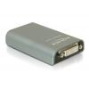 Konverter USB 2.0 (M) - DVI-I Dual Link, VGA, HDMI (F), kuni 6 konverterit ühel arvutil, mirror ja extended 1920x1080