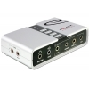 USB 2.0 helikaart, 8x 3.5mm, 2x S/PDI, 7.1