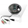 USB 3.0 Hub: 3 x USB 3.0, 1 x 3.5mm stereo, 1 x 3.5mm mic, laua sisse paigaldatav, juhtmerosett