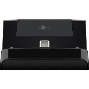 USB-C laadimisjaam, 5V 2A, must