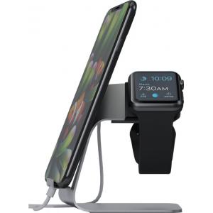 Hoidik Apple kellale ja mobiiltelefonile, alumiinium