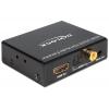 Konverter HDMI - HDMI + TosLink SPDIF ja RCA + 3.5mm (hdmi 2.0/5.1 heli eraldaja ja läbilaskja), 1080p