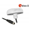 MD6 Serial PPS Multi GNSS vastuvõtja u-blox 8 5.0m, valge