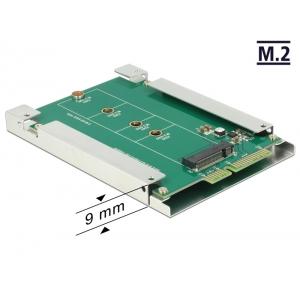 Üleminek SATA 22pin - 67 pin M.2 NGFF (B slot)
