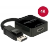 Konverter HDMI (F) - Displayport (M), 2160p (Displayport monitorile) 0.15m, must
