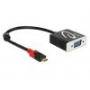 Konverter USB-C (M) - VGA (F) 0.2m