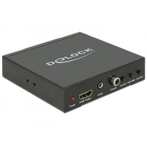 Konverter/ switch Scart, HDMI (F) (sisse) - HDMI, 3.5mm, koaksiaal (F) välja