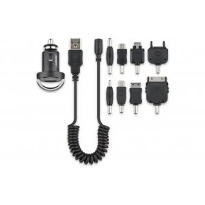 USB Autolaadija komplekt, 12V/24V (1200mA)
